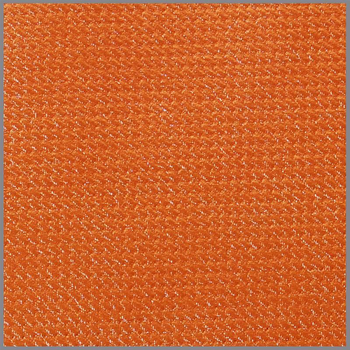 Struktur Folienjersey Metallic orange